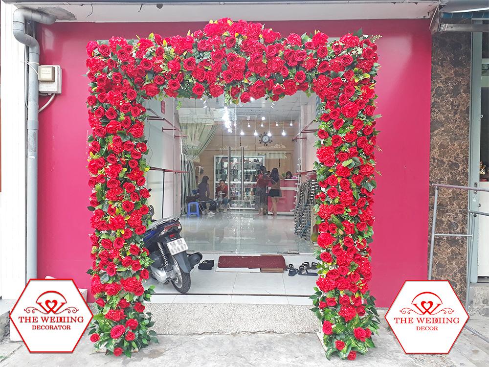 Cho thuê cổng hoa cưới